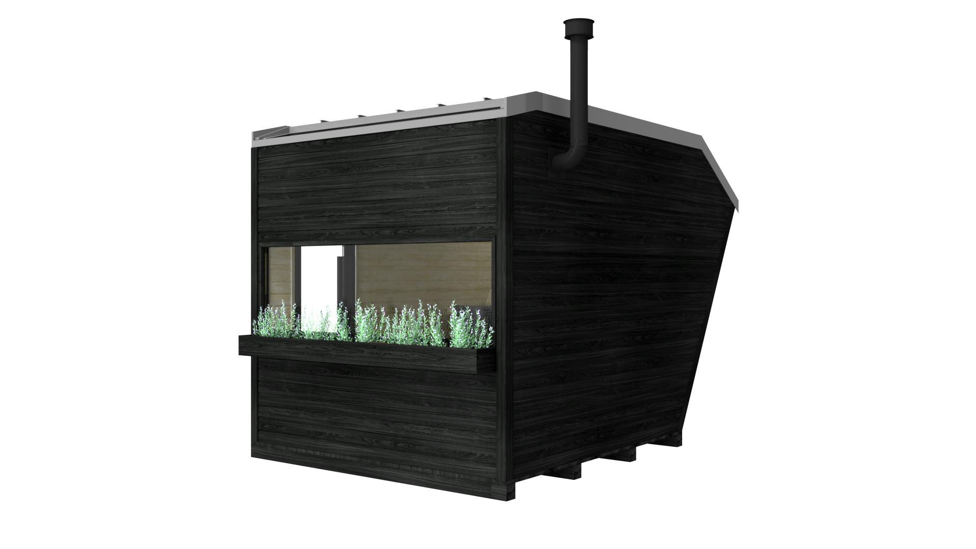 INUA Jord Sauna wooden heater 3