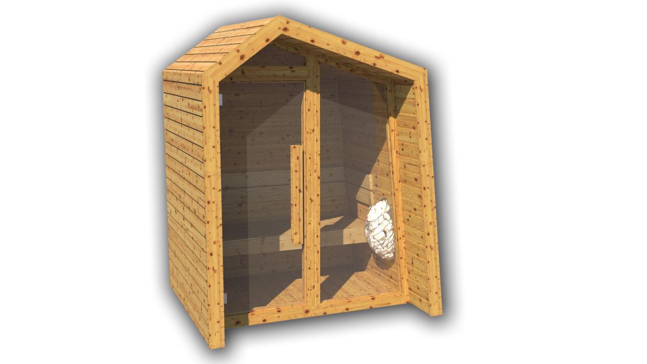 INUA Frigg udend├©rs sauna 1