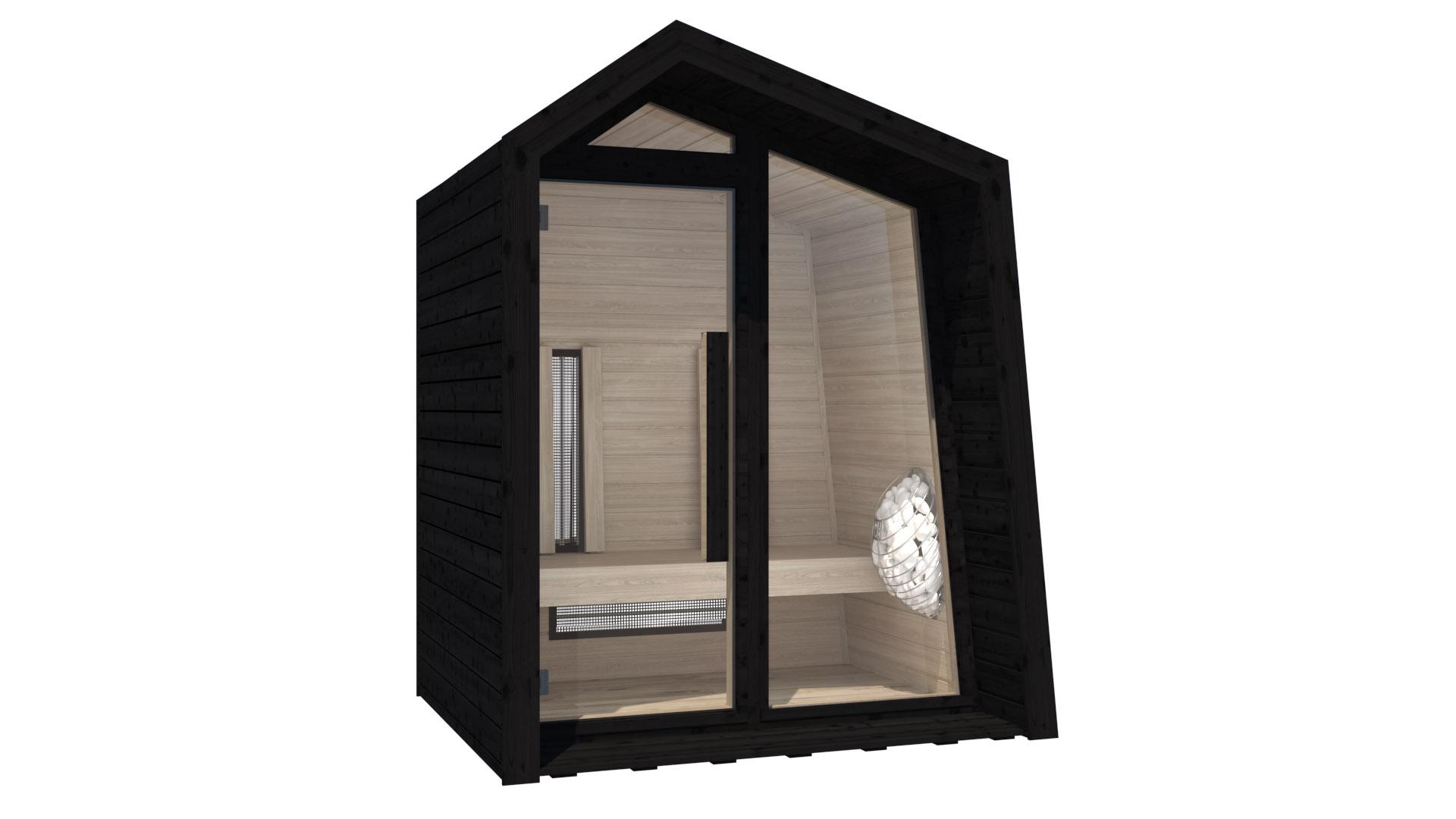 INUA Frigg udendoers kombi sauna_infraroed sauna2