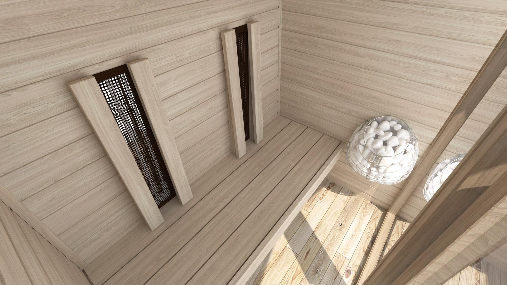 INUA Frigg udendoers kombi sauna_infraroed sauna3