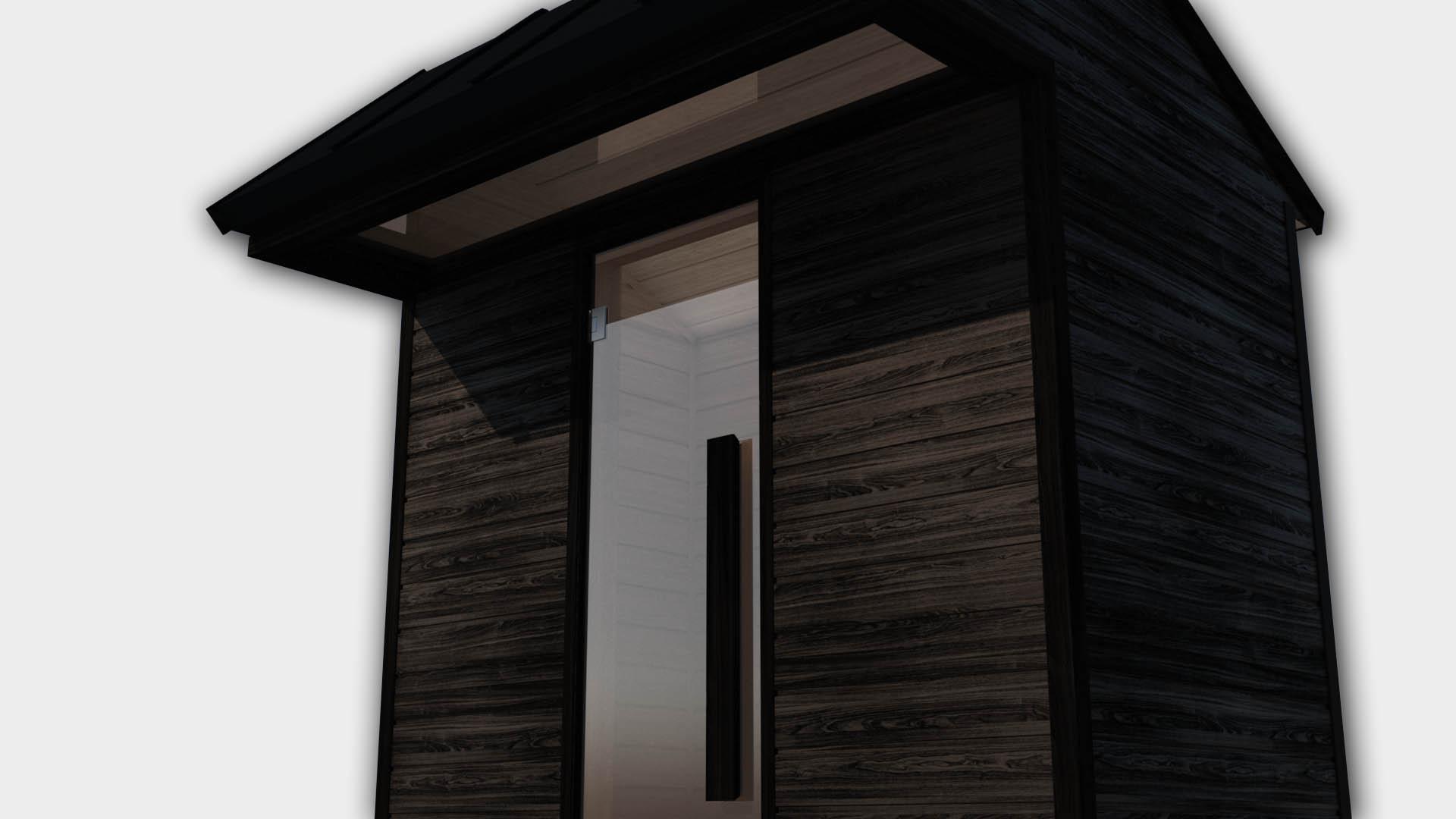 INUA Heimdall udend├©rs infrar├©d sauna til to personer 3