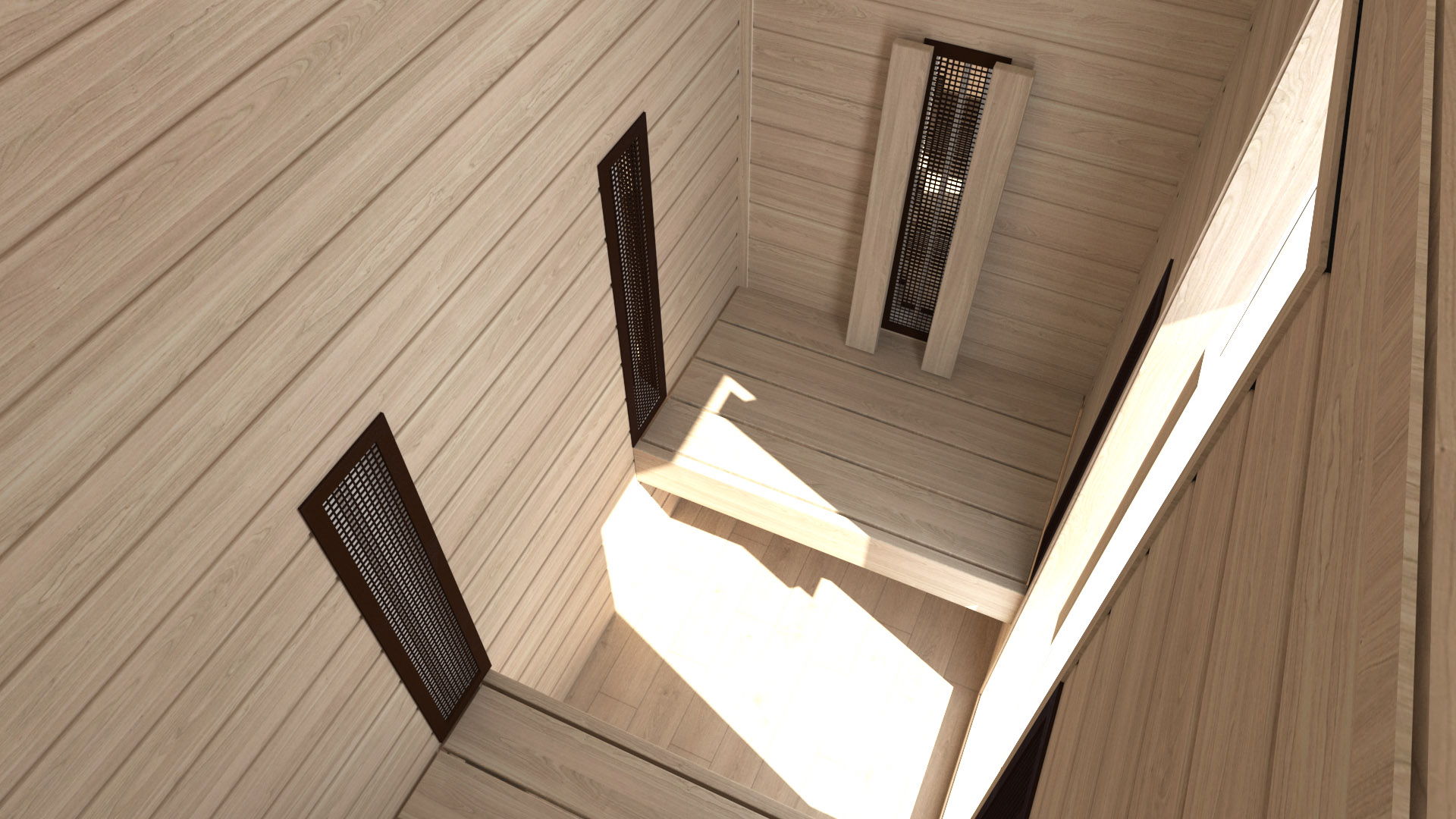 INUA Heimdall udend├©rs infrar├©d sauna til to personer 5