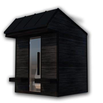 INUA Heimdall udend├©rs sauna til fire personer 1