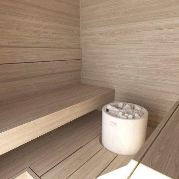 INUA Heimdall udend├©rs sauna til fire personer 4