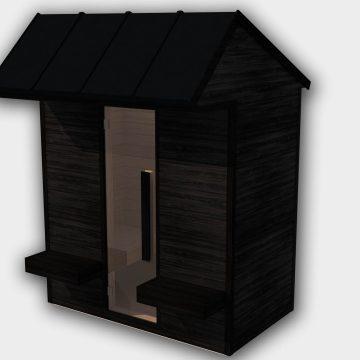 INUA Heimdall udend├©rs sauna til to personer 2