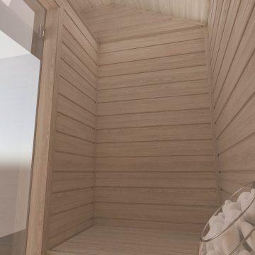 INUA Heimdall udend├©rs sauna til to personer 5
