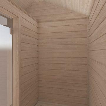 INUA Heimdall udend├©rs sauna til to personer 6