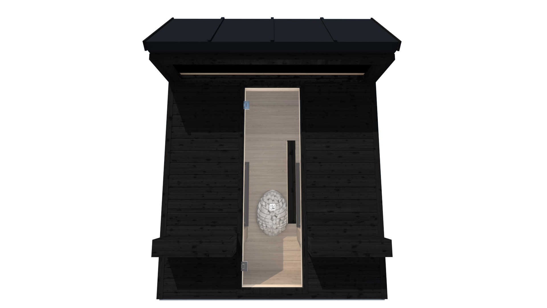 INUA Heimdall udendoers kombi sauna_infraroed sauna