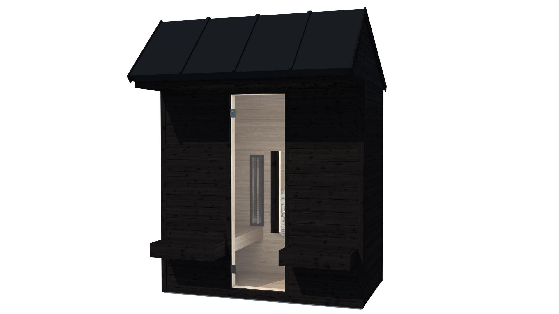 INUA Heimdall udendoers kombi sauna_infraroed