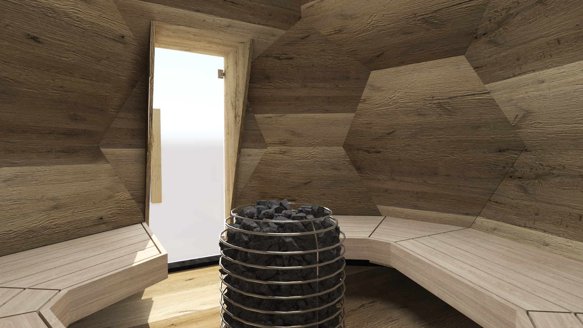 INUA Odin Geodatisk udendoers finsk sauna3