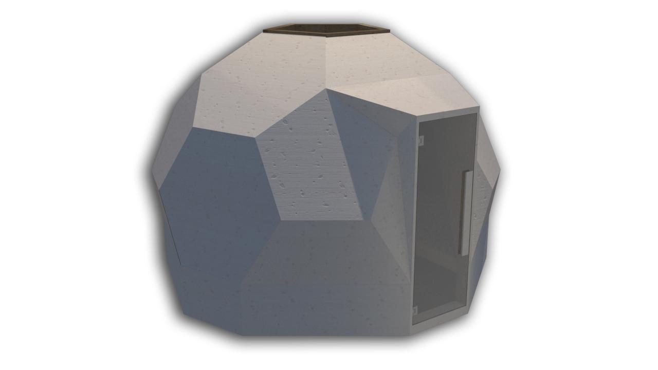 INUA Odin geod├ªtiske udend├©rs sauna 2
