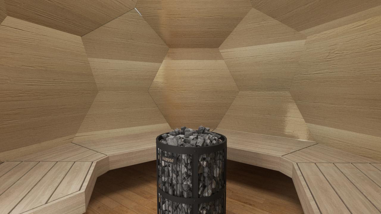 INUA Odin geod├ªtiske udend├©rs sauna 4