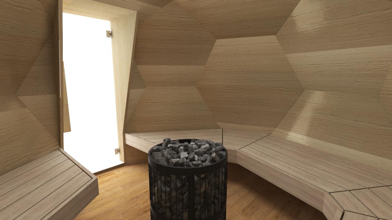 INUA Odin geod├ªtiske udend├©rs sauna 5
