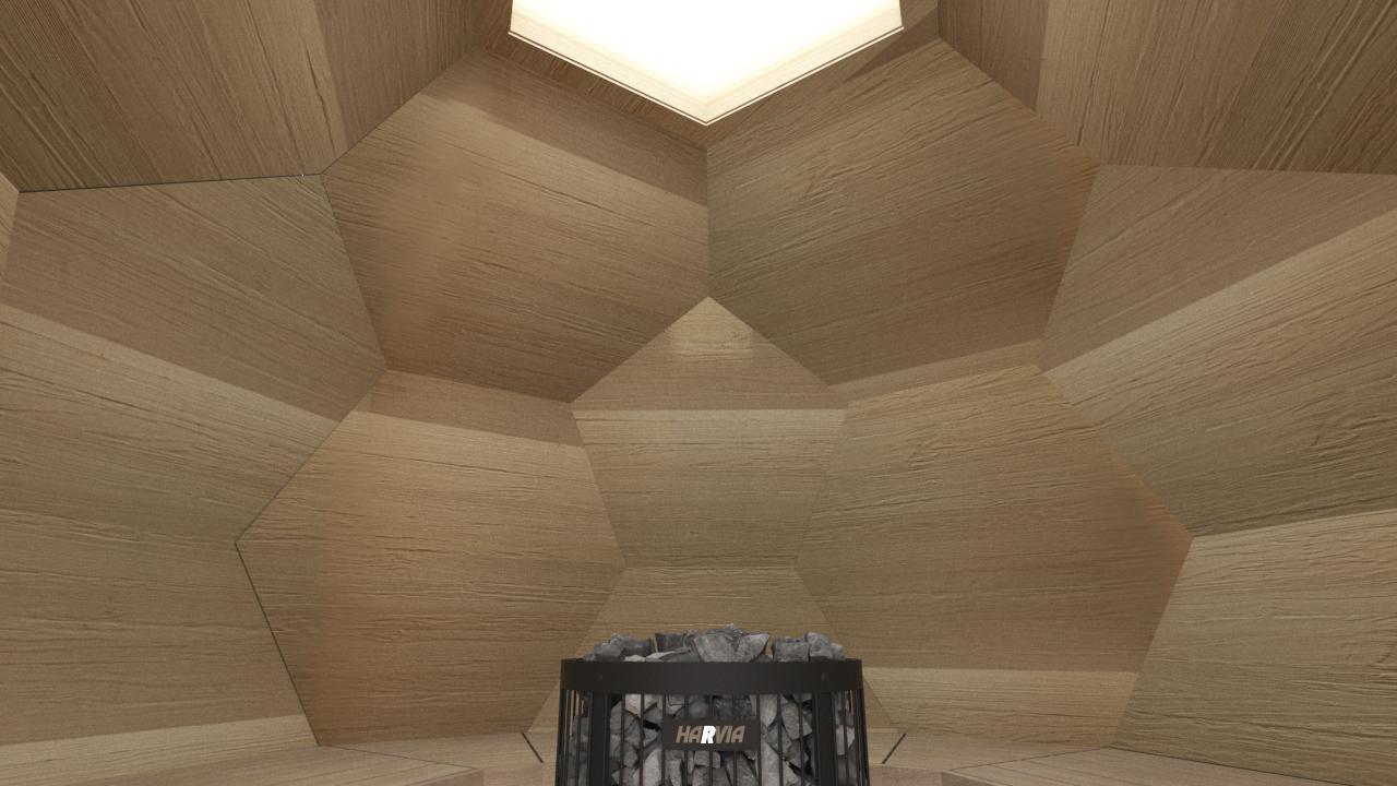 INUA Odin geod├ªtiske udend├©rs sauna 6