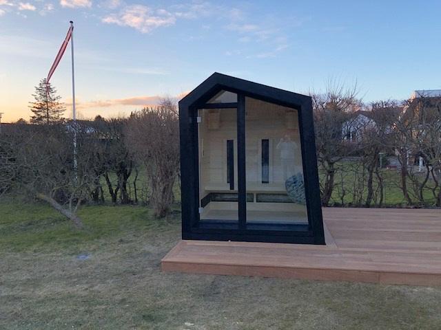 Inua Frigg Udendoers Kombi Sauna Infraroed Og Finsk Sauna Aarhus 1