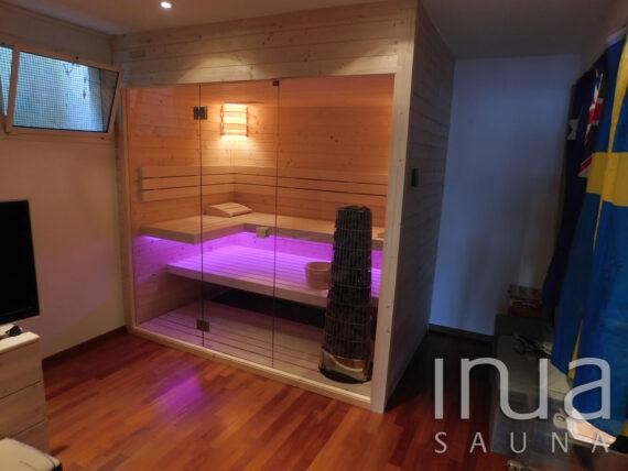 INUA_indendørs_finsk_sauna_med_Harvia_Kiwi_Richterwill_Schwitzerland_3