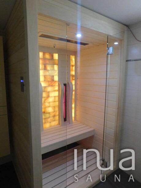 INUA_indendørs_infrarød_sauna_med_saltvæg_Buchs_Schwitzerland_2