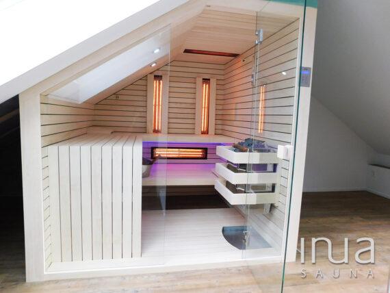 INUA_skræddersyet_kombi_sauna_infrarød_og_finsk_sauna_Uzwill_Schweiz_1