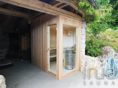 INUA_skræddersyet_udedørs_kombineret_kabine_med_infrarød_og-finsk_sauna_Simmelsdorf_Tyskland_2